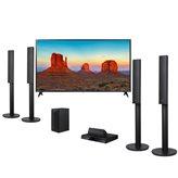 """LED TV 55"""" 55UK6300MLB.AEE,UHD, DLED, DVB-C/T2/S2, Smart TV, Wi-Fi, energetska klasa A+, + Kućno kino LG LHD457, Bluetooth (Rx), 5.1 System, HDMI, USB, 330W"""
