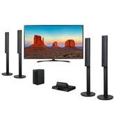 """LED TV 65"""" 65UK6470PLC.AEE,UHD, DLED, DVB-C/T2/S2, Smart TV, Wi-Fi, energetska klasa A+, + Kućno kino LG LHD457, Bluetooth (Rx), 5.1 System, HDMI, USB, 330W"""