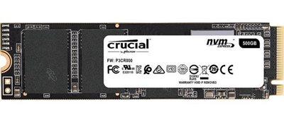 SSD 1000.0 GB CRUCIAL P1, CT1000P1SSD8, M.2, 2280, maks do 2000/1700 MB/s