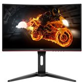 "Monitor 24"" AOC C24G1, 144Hz, 1ms, 250cd/m2, 80000000:1, crni"