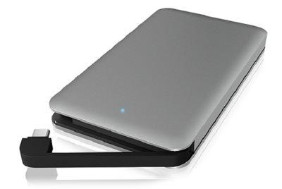 """Eksterno kućište ICY BOX IB-246-C3, 2.5"""" SATA, USB-C, sivo"""