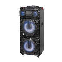 Karaoke TREVI XF 3800 DJ PRO, 300W, disco LED rasvjeta, FM, BT, USB, 1x mikrofon