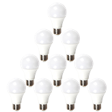 Set LED žarulja V-TAC A60,9W,2700K,E27, 10 komada