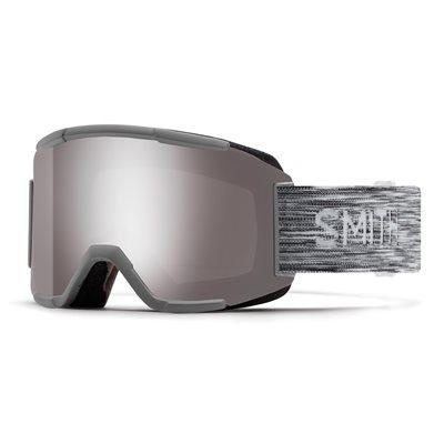 Skijaške naočale SMITH Squad, sivo/srebrne