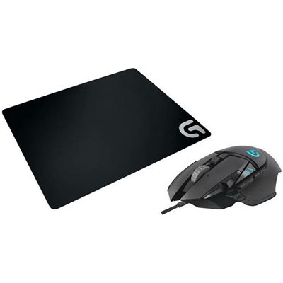 Miš LOGITECH G502 Proteus Spectrum RGB, Gaming, optički, 12000dpi, crni, USB + podloga LOGITECH G240