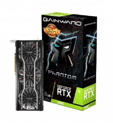 Grafička kartica PCI-E GAINWARD GeForce RTX 2080 Phantom GLH, 8GB GDDR6