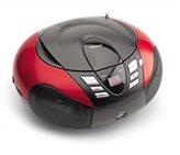 Prijenosni CD/USB radio uređaj LENCO SCD-37, Red