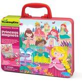 Kreativni set 4M, Thinking Kits, Princess Magnets, magneti princeza