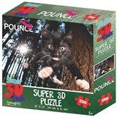 Slagalica HOWARD ROBINSON, Super 3D Puzzle, Maca Skookums, 150 komada