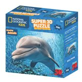 Slagalica NATIONAL GEOGRAPHIC, Super 3D Kids Puzzle, Dupin, 150 komada