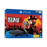 Igraća konzola SONY PlayStation 4 Slim, 1000GB, F Chassis, Red Dead Redemption 2 + Marvel's Spiderman Standard Edition