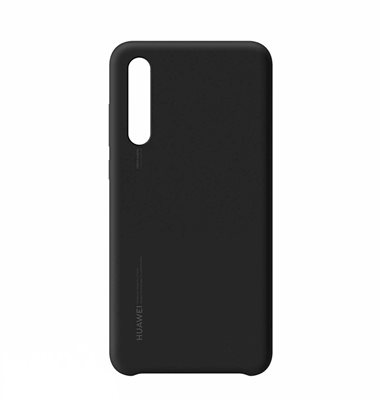 Cover HUAWEI, Silicon, za Huawei P20 Pro, crni