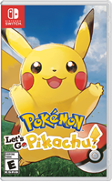 Igra za NINTENDO Switch, Pokemon Let's Go Pikachu