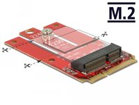 Adapter DELOCK, Mini PCIe (M) na M.2 kod E utor, USB 2.0/PCIe