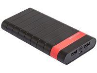 Mobilni USB punjač REAL POWER PB-20000C, 20000 mAh, USB 3.0, crni