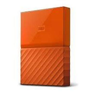 """Tvrdi disk vanjski 2000.0 GB WESTERN DIGITAL My Passport WDBS4B0020BOR, USB 3.0, 5400 okr/min, 2.5"""", narančasti"""