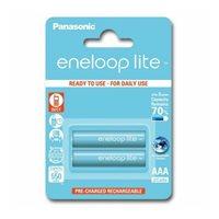 Baterija PANASONIC Eneloop Lite BK4LCCE2BE, tip AAA, punjive, 550mAh, 2kom
