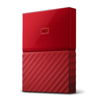 """Tvrdi disk vanjski 2000.0 GB WESTERN DIGITAL My Passport WDBS4B0020BRD-WESN, USB 3.0, 5400 okr/min, 2.5"""", crveni"""