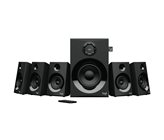 Zvučnici LOGITECH Z607, 5.1, 160W, RCA kablovi, 3.5 to RCA, crni