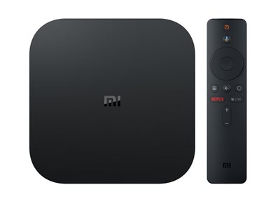 Media Player XIAOMI Mi Box S, 4K, QuadCore Cortex A53, 2GB, 8GB eMMC, BT, Wi-Fi, Google Assistant, HDMI, Andoid 8.1, daljinski