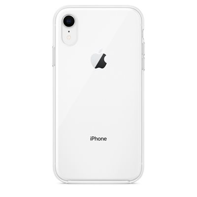 Cover APPLE Clear Case, za IPHONE XR, prozirni