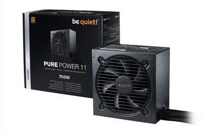 Napajanje 700W, BEQUIET Pure Power 11, 120mm vent., 80+ Gold, PFC