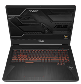 "Prijenosno računalo ASUS FX705GD-EW128T / Core i7 8750H, 8GB, 1000GB + 16GB SSD, GeForce GTX 1050, 17,3"" LED FHD, Windows 10, crno"