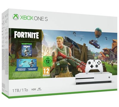 Igraća konzola MICROSOFT XBOX One S, 1000GB + Fortnite
