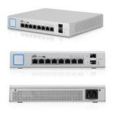 Switch UBIQUITI UniFi Managed US-8-150W, 10/100/1000, 8-port + 2xSFP, PoE, 150W