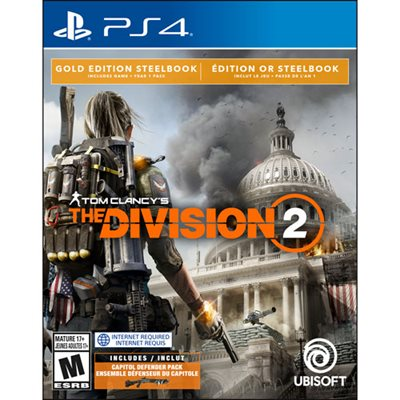 Igra za SONY PlayStation 4, Tom Clancy's The Division 2 Gold Edition - Preorder