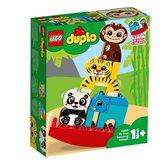LEGO 10884, Duplo, My First Balancing Animals, moja prva životinjska piramida