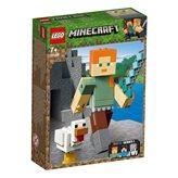 LEGO 21149, Minecraft, Minecraft Alex BigFig with Chicken, Alex s kokoši