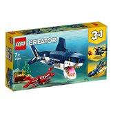 LEGO 31088, Creator, Deep Sea Creatures, bića iz morskih dubina, 3u1