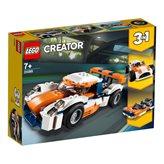 LEGO 31089, Creator, Sunset Track Racer, trkaći auto, 3u1