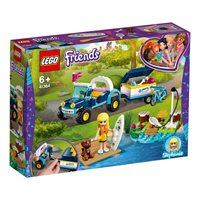 LEGO 41364, Friends, Stephanie's Buggy & Trailer, Stephanien buggy s prikolicom