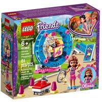 LEGO 41383, Friends, Olivia's Hamster Playground, Olivijino igralište za hrčka