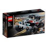 LEGO 42090, Technic, Getaway Truck, Terenac za bijeg, pull-back