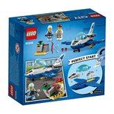 LEGO 60206, City, Sky Police Jet Patrol, mlazna patrola nebeske policije