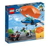 LEGO 60208, City, Sky Police Parachute Arrest, uhićenje padobranca s nebeskom policijom