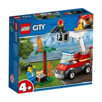 LEGO 60212, City, Barbecue Burn Out, zagorjeli roštilj