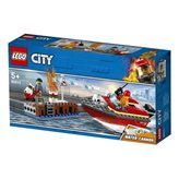 LEGO 60213, City, Dock Side Fire, požar na dokovima