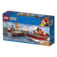 LEGO 60213, City, Dock Side Fire, požar na dokovima