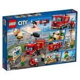 LEGO 60214, City, Burger Bar Fire Rescue, spašavanje pečenjarnice od požara