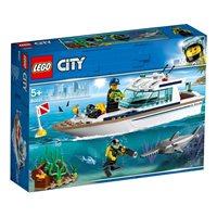 LEGO 60221, City, Diving Yacht, ronilačka jahta