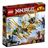 LEGO 70666, Ninjago, The Golden Dragon, zlatni zmaj