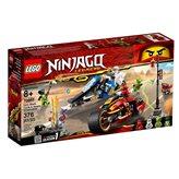 LEGO 70667, Ninjago, Kai's Blade Cycle & Zane's Snowmobile, Kaijeve oštrice i Zaneove motorne saonice