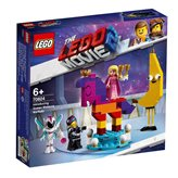 LEGO 70824, The Lego Movie 2, Introducing Queen Watevra Wa'Nabi, predstavljanje kraljice Watevra Wa'Nabi