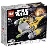 LEGO 75223, Star Wars, Naboo Starfighter Microfighter, Naboo zvijezdani borac
