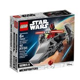 LEGO 75224, Star Wars, Sith Infiltrator Microfighter