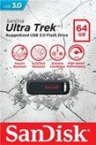 Memorija USB 3.0 FLASH DRIVE, 64 GB, SANDISK Ultra Trek, SDCZ490-064G-G46